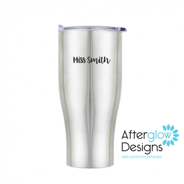 Travel Mug Personalized Back