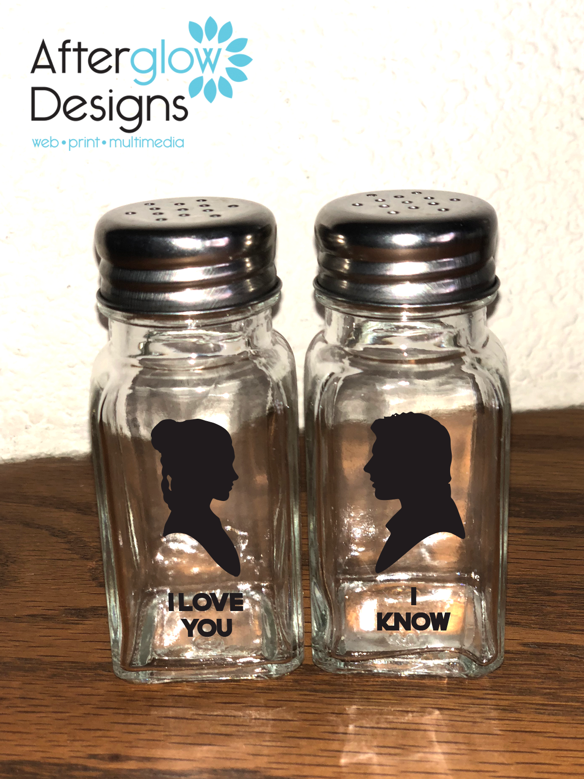 "Leia and Han Solo ""I Love You 