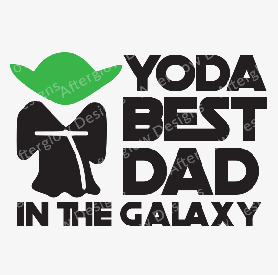 fe5d41230 Yoda Best Dad in the Galaxy
