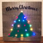Christmas Tree Light Up Sign
