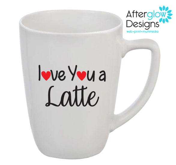 """I Love You a Latte"" Mug"